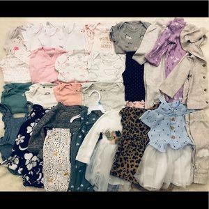 Baby Girl Bundle (29 items!) : size 6M